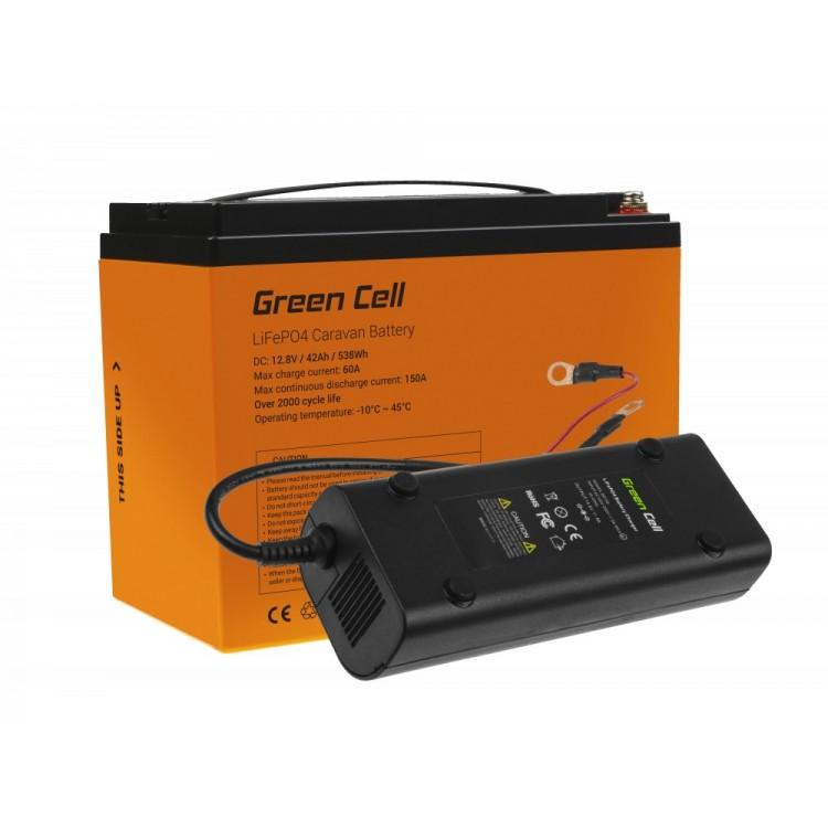 Μπαταρία LiFePO4 battery 42Ah 12.8V 538Wh  φωσφορικού σιδήρου λιθίου CAV01