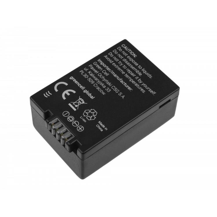 Μπαταρία DMW-BMB9  Panasonic Lumix DMC-FZ70, DMC-FZ60, DMC-FZ100, DMC-FZ40, DMC-FZ47 7.42 1100mAh