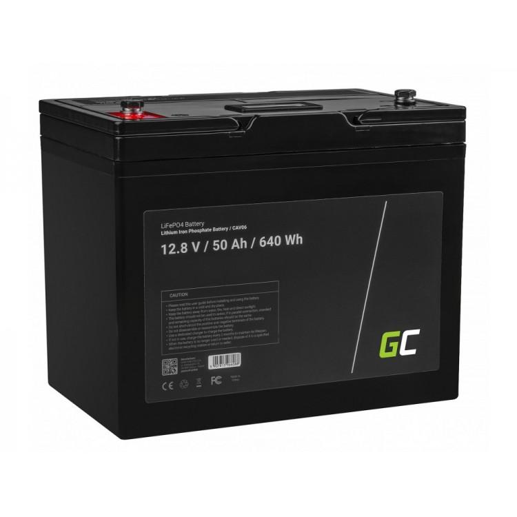 Μπαταρία LiFePO4 battery 50Ah 12.8V 640Wh φωσφορικού σιδήρου λιθίου Green Cell