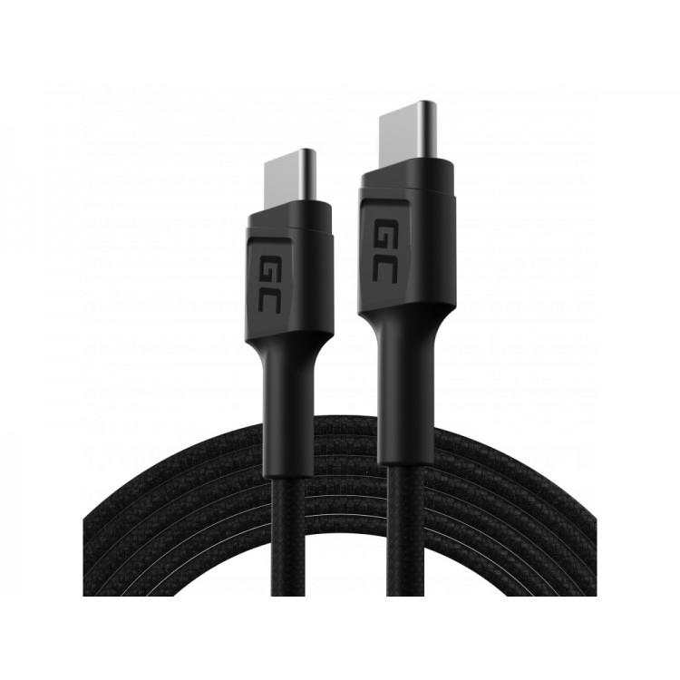 Καλώδιο PowerStream USB-C - USB-C 200cm  Power Delivery (60W), 480 Mbps, Ultra Charge, QC 3.0