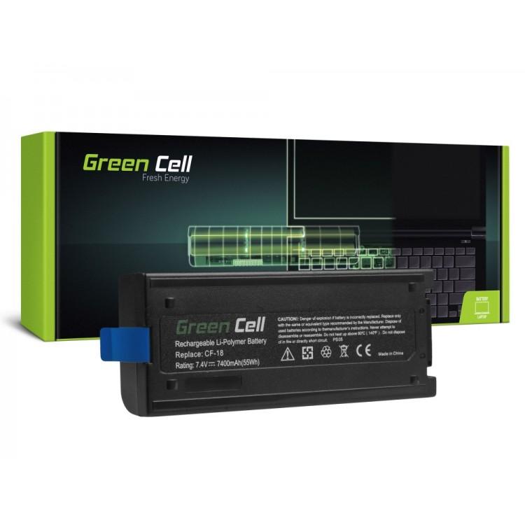 Μπαταρία laptop Panasonic Toughbook CF-18 CF-VZSU30B  6600mAh Green Cell
