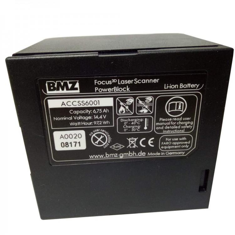 Ανακατασκευή μπαταρίας για Faro Focus 3D Laser Scanner, BMZ