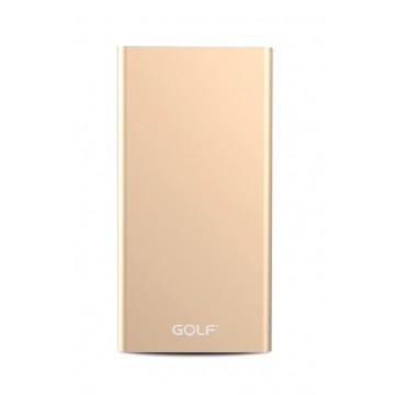 Power Bank Edge 5 5000mAh, χρυσό GOLF