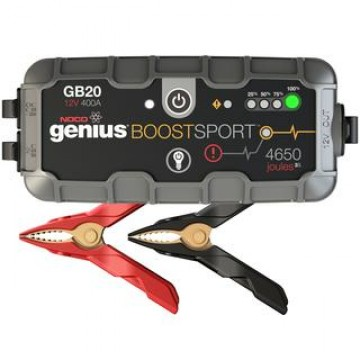 UltraSafe Εκκινητής Οχημάτων & Power Bank NOCO genius Boost Sport GB20 12V 400A