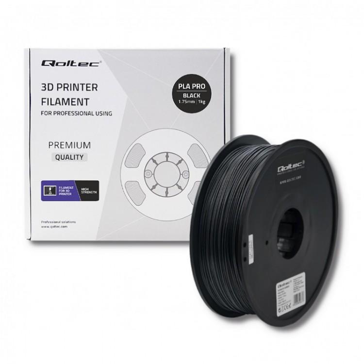 Filament PLA PRO  1 kg 1.75 mm Black