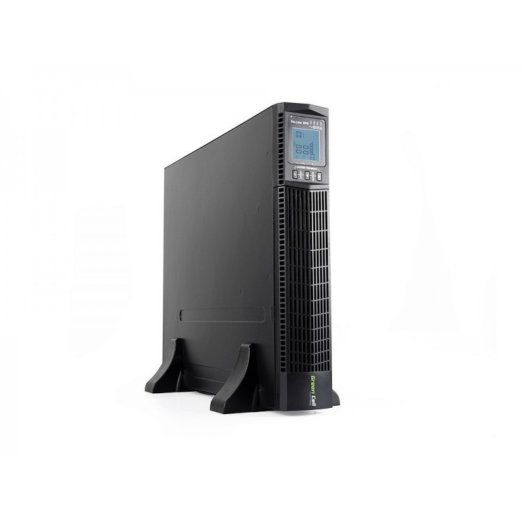 Green Cell UPS Online RTII 2000VA LCD
