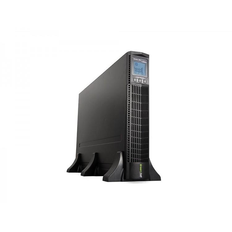 Green Cell UPS Online RTII 3000VA LCD