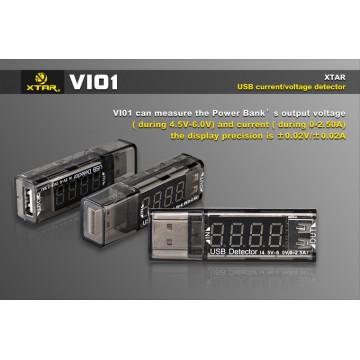 USB Detector VI01, XTAR