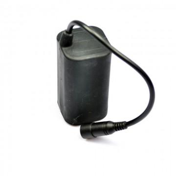Επαναφορτιζόμενο πακ για φακούς ποδηλάτων, 4x 18650, 8.4V, 4400mAh, Ultrafire