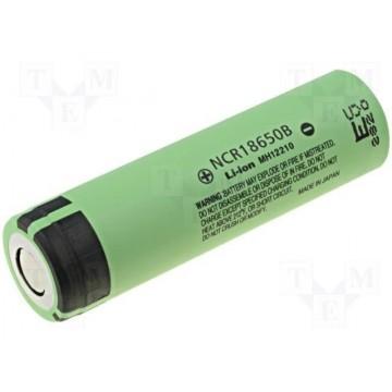 Μπαταρια Λιθίου, NCR18650B, 3.6V, 3400mAh, Panasonic