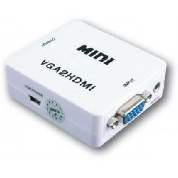 VGA TO HDMI AUDIO CONVERTER