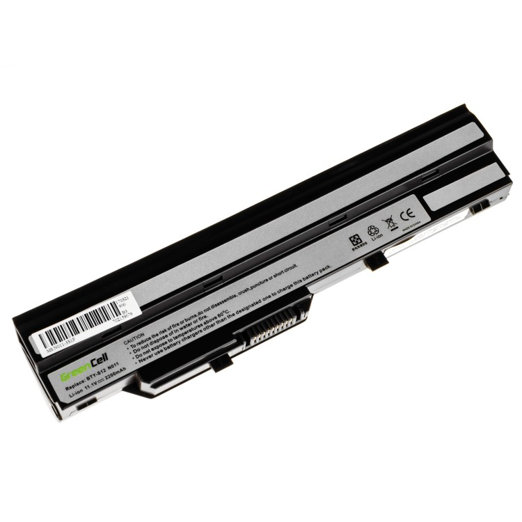 Μπαταρία laptop MSI Wind U91 L2100 L2300 U210 U120 U115 U270 (black)