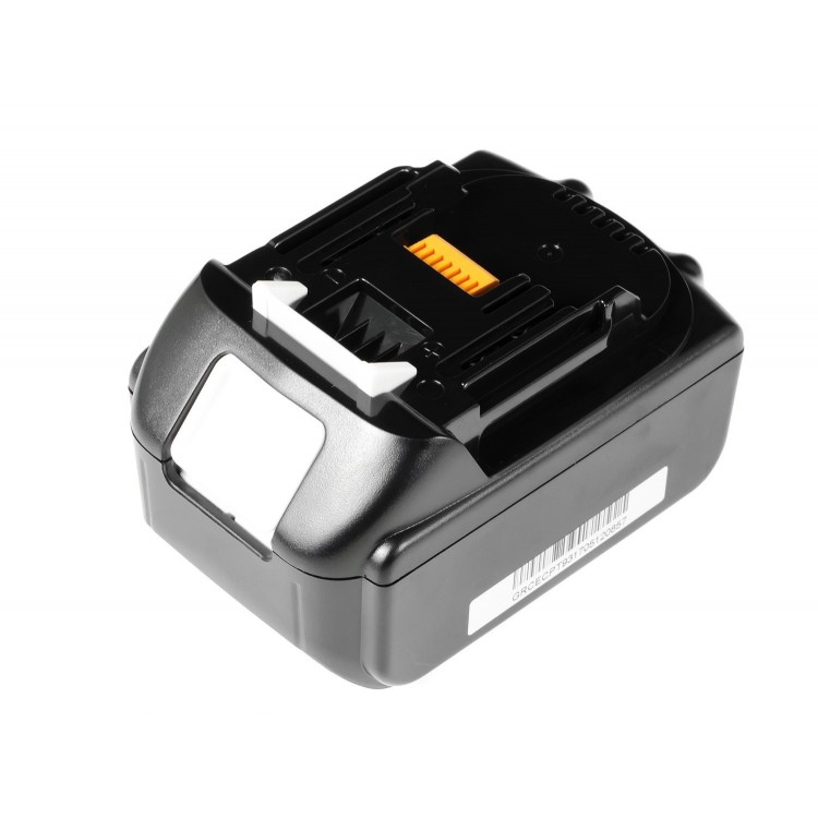 BW Power Tool Battery for Makita BL1830 194204-5 Ogniwa SAMSUNG 18V 4Ah