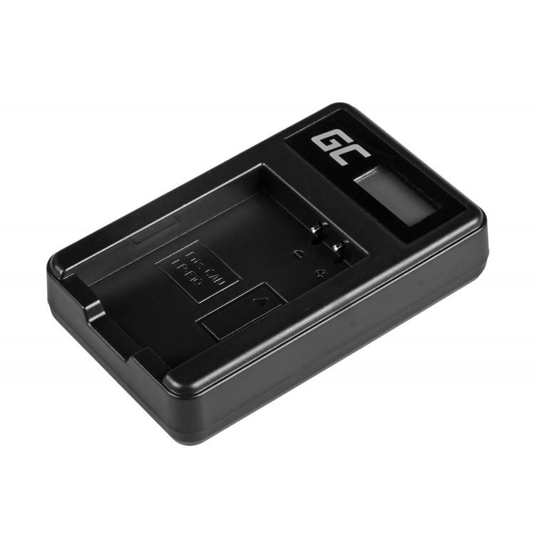 Φορτιστής  LC-E10 for Canon LP-E10, EOS Rebel T3, T5, T6, Kiss X50, Kiss X70, EOS 1100D, EOS 1200D, EOS 1300D