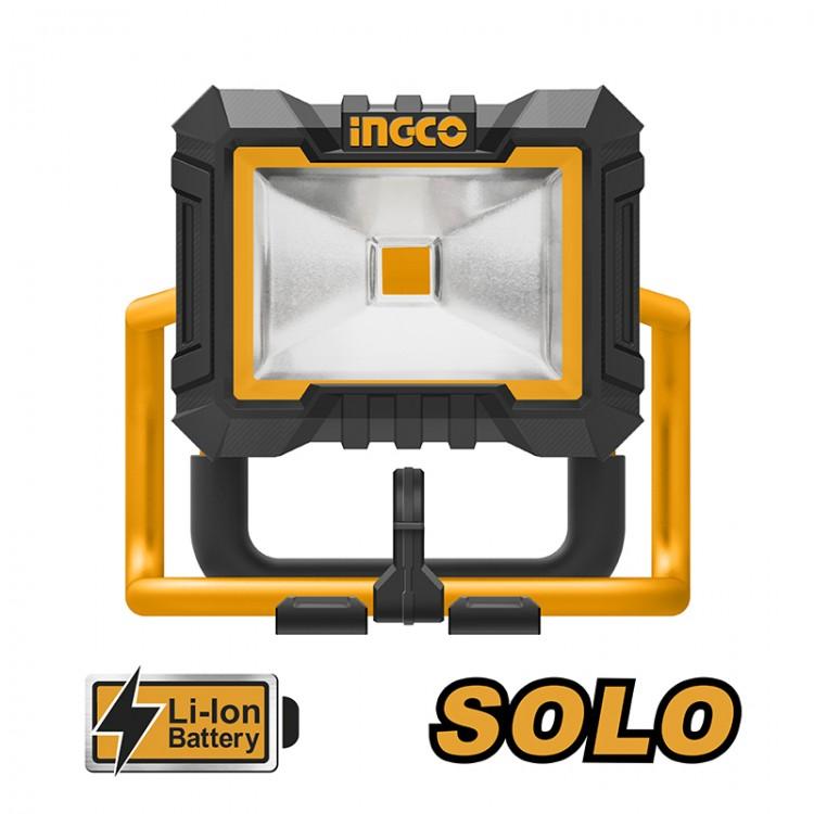 Προβολέας Μπαταρίας 20V 750lm Li-lon SOLO CWLI2002 INGCO