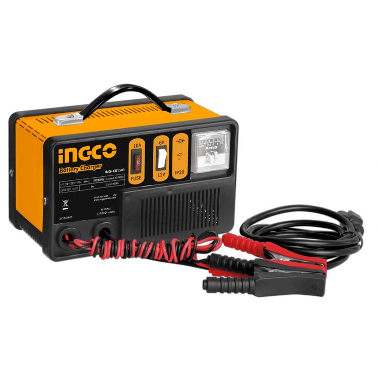 Φορτιστής μπαταριών αυτοκινήτου CB1501 INGCO